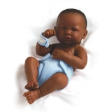 La Newborn African American First Day 15 Real Boy