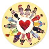 Circle of Friends Jigsaw Puzzle