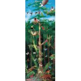 Floor Puzzle - Rain Forest 100 pieces. Ages 6 and up