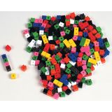 Interlocking Centimeter Cubes - Set of 1000