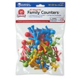 All About Me Family Counters (24 Pieces, 4 Colours)