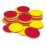Bean Counters™ and Two-Colour Counters  - Red & Yellow