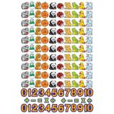 Beginners Counting Set Flannelboard-Precut
