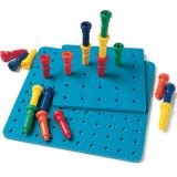 Tall Stacker™ Pegs and Pegboards - 50 Pegs, 111?2 100-hole board