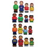 "5"" Multicultural Family Figures - Set of All 16"