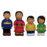 "5"" Multicultural Family Figures - Asian"