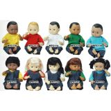 Multi-Ethnic School Dolls - Black Boy