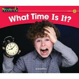 Math Rising Readers - Level B - What Time Is It?