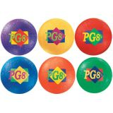 Coloured Playground Balls - Set of All 6 Colours