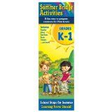 Summer Bridge Activity Cards - K-1