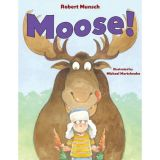 Robert Munsch - Paperback Book - Moose!