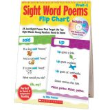 Sight Word Poems Flip Chart - PreK-1