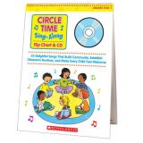 Circle Time Sing-Along Chart + CD