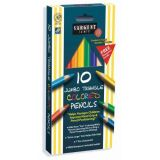 Sargent Art® Easy Grip Triangle Coloured Pencils (10 Pk)