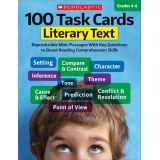 100 Task Cards Literacy Text