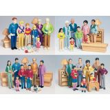Pretend Play Families (Set of 4)