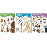Musical Learning Charts- set of 3
