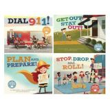 Fire Safety (Set Of 4 Books)