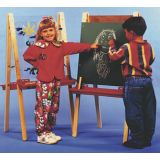 Dual Easel with Chalkboard