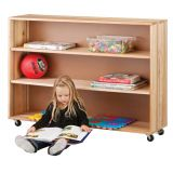 Adjustable Shelf Unit- Hardwood 38H