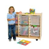 Large Interchangeable Bin Storage units -  with Jumbo Gratnell Bins(33x18x41.5)