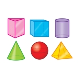 3-D Shapes - Mini Accents Variety Pack