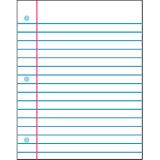 Wipe-Off® Charts - Notebook Paper (22x28)