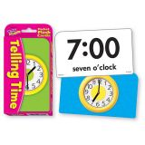 Telling Time Pocket Flash Cards