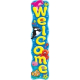 Welcome Sea Buddies™ - Quotable Expressions® Banner – 5 Feet