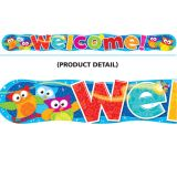 Owl Welcome Banner-  10' long