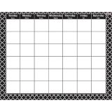 Moroccan Black - Wipe-Off® Calendar-Monthly