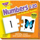 Fun-to-Know™ Puzzles - Numbers 1-20