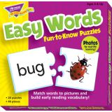 Fun-to-Know™ Puzzles - Easy Words