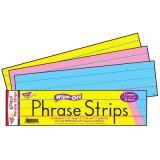 Wipe-Off Phrase Strips - Multicolour