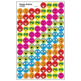 Happy Smiles - superSpots® Stickers