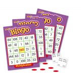 Bingo Games  - Multiplication- Grades 3 and up