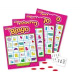 Bingo Games  - Fractions- Grades 3 and up
