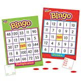 Bingo Games  - Multiplication and Division- Grades 3 and up