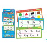 Wipe-Off® Bingo- Alphabet, Numbers, Colours & Shapes