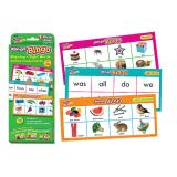 Wipe-Off® Bingo- Rhyming, Sight Words, Initial Consonants