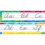 Alphabet Lines Bulletin Board Set