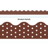 Polka Dots Chocoloate Trimmer (39')