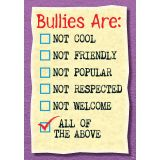 Argus® Charts - Bullies Are: Not Cool…