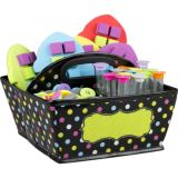 Chalkboard Brights Storage Caddy