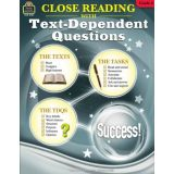 Close Reading Using Text-Dependent Question