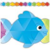 Colourful Fish Die-Cut Border Trim