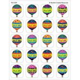 Stickers 120/pk - Hot Air Balloons