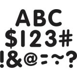 Black Classic 2 Uppercase Letters