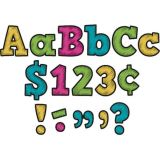Chalkboard Brights Bold Block 4 Letters Combo Pack