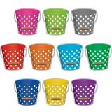Polka Dots Buckets Accents